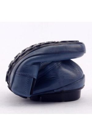 Ayakdaş 2000 % 100 deri Günlük Ortopedik Bayan Babet Ayakkabı