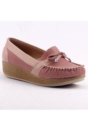 Ccway 504 Kalın Taban Günlük Bayan Babet Ayakkabı