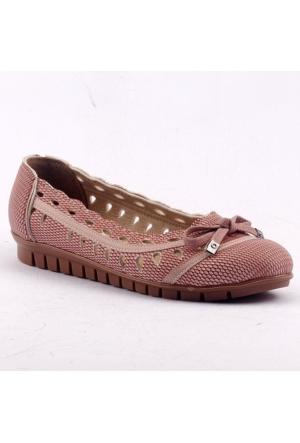 Ccway B07 Günlük Yürüyüş Bayan Babet Ayakkabı