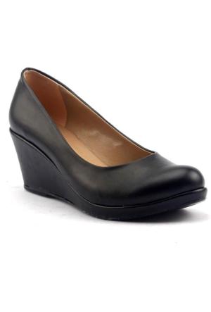 Alens Büyük Numara Dolgu Topuk Günlük Bayan Babet ayakkabı