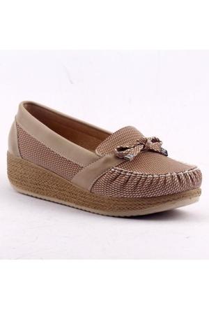 Ccway 504 Kalın Taban Günlük Bayan Ayakkabı