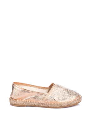 Pembe Potin Somon Ayakkabı