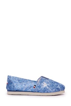U.S. Polo Assn. Kadın Y7Cerelia Ayakkabı Mavi