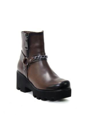 Bot - Kahverengi - Ayakkabı Havuzu