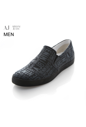 Armani Jeans Ayakkabı C65561635 Armani Men Footwear Blu - Blue