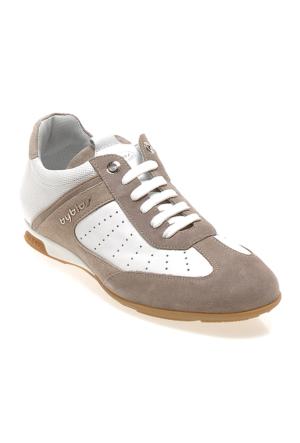 Byblos Ye61461B Erkek Ayakkabı Cam Taupe/Bıanco/Sasso