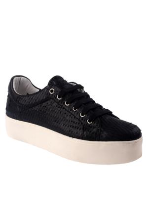 Frau Pompelmo 37 A4 Talco Kadın Ayakkabı Siyah