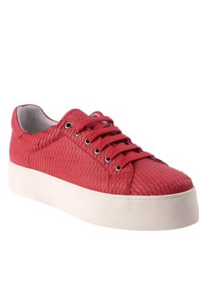 Frau Pompelmo 37 A4 Talco Kadın Ayakkabı Kırmızı