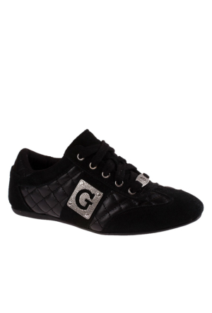 Guess Black 900 Fl2Ttr Sue12 Kadın Ayakkabı Siyah