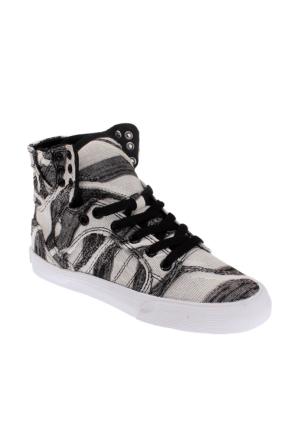 Supra Women Skytop Sw18035 Kadın Ayakkabı Whıte/Prınt - Whıte