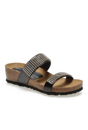 Calzaturoficio Silva A070 Kadın Ayakkabı Vernıce Nero