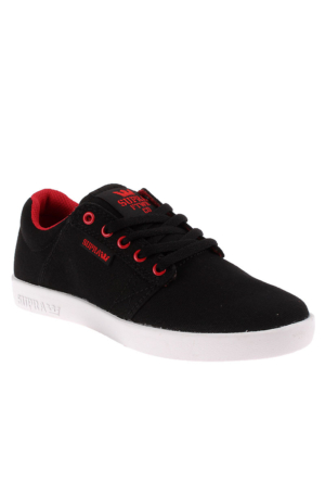 Kids Westway-Black / Red - White Sk12036 Çocuk Ayakkabı Black Red Whıte