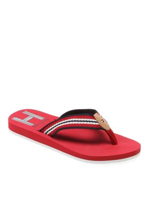 611 Tommy Hilfiger Monica 26D Fw56818946 Kadın Ayakkabı 611 Tango Red