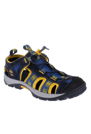 Timberland Advskr Clsdtoe Nvy/Y Blue 2580A Çocuk Bot Navy Wıth Yellow
