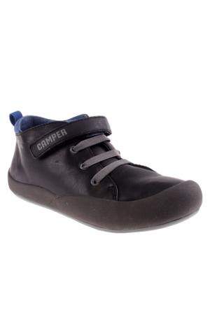 Camper 008 Black 90105-008 Senda Erkek Çocuk Ayakkabı Siyah
