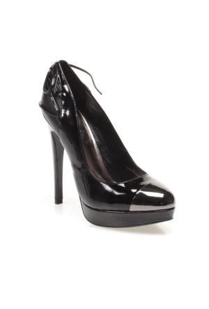 N07516 Just Cavalli Court Shoe S13Wl0067 Kadın Ayakkabı 900 Phıla Prınt Mıdnıght