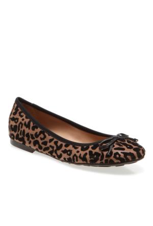 Petty Pretty Nana Leopard+Vitello 641541 Kadın Kahverengi Babet