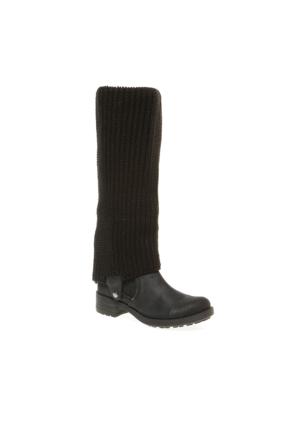 Sara Pretty Nana Tevere 723060 Kadın Ayakkabı Siyah