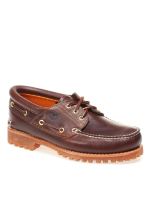 Timberland Traditional Handsewn 30003 Erkek Bot Brown Pull Up