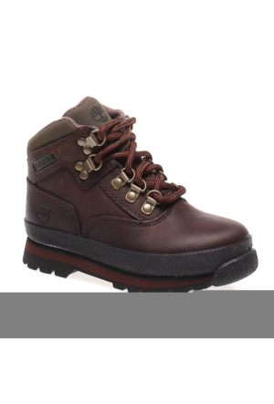 Timberland Euro Hiker Brown Sm 3085R Çocuk Bot Brown Smooth