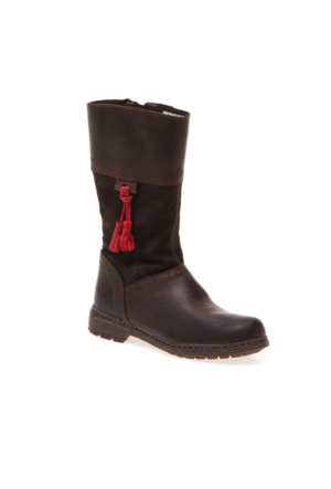 Timberland Amesbury Girls Tall Boot 8279R Çocuk Bot Dk Brown