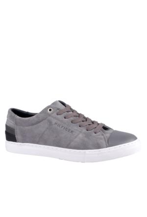 Tommy Hilfiger Erkek Sneaker Gümüş FM0FM00361