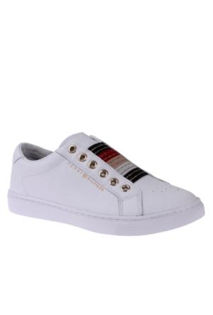 Tommy Hilfiger Kadın Ayakkabı Fw0Fw00831 100 V1285Enus 8A1