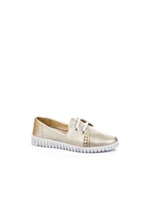 Elle Ora Bayan Ayakkabı Altın Altın
