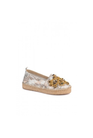 Elle Adelina Bayan Ayakkabı Ekru