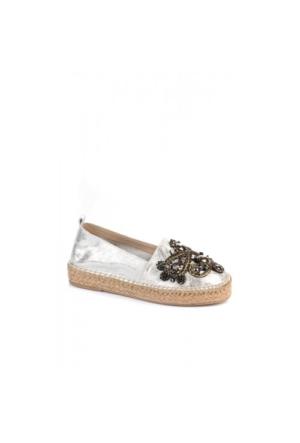 Elle Adelina Bayan Ayakkabı Gümüş