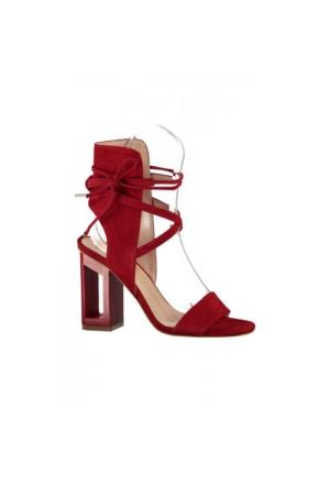 Elle Vicinity Bayan Sandalet Kırmızı