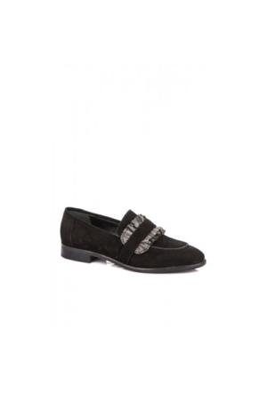 Elle Amassado Bayan Ayakkabı Siyah