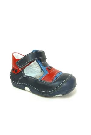 Black Tavern 1104 Lacivert Kırmızı Ortopedik İlkadım Ayakkabı