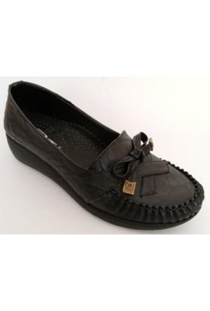 Punto Siyah Bayan Ayakkabı