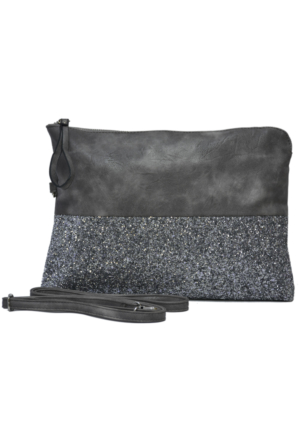 David Jones Kadın Clutch Çanta Vizon