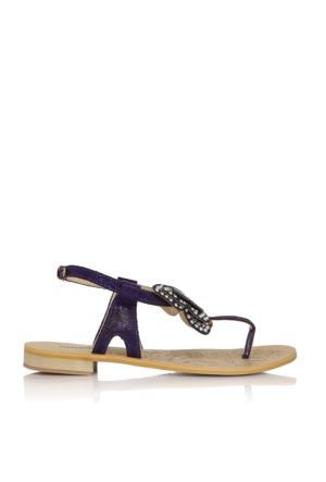 EsMODA Cc-6700 Mor Kadın Sandalet