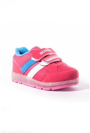 Scooby Bebek Ayakkabı 339-B106 Fuşya