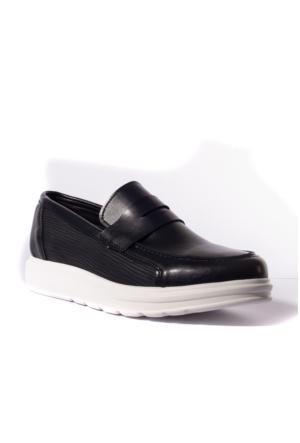 Conteyner Erkek Ayakkabı 547218 Lacivert-Cilt