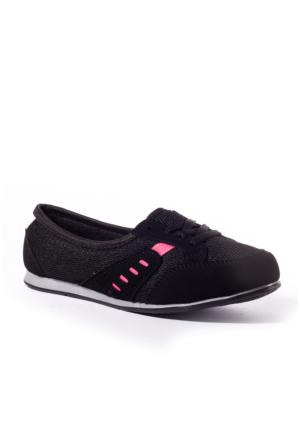 Conpax Kadın Ayakkabı 1080243 Siyah-Fuşya