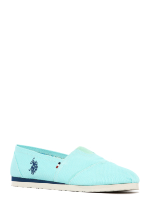 U.S. Polo Assn. Kadın Y7Huff Ayakkabı Yeşil
