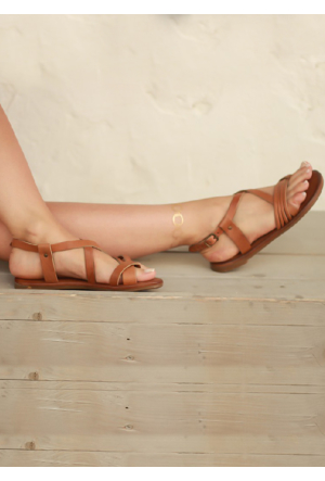 Shoepink Jessi Gerçek Deri Sandalet