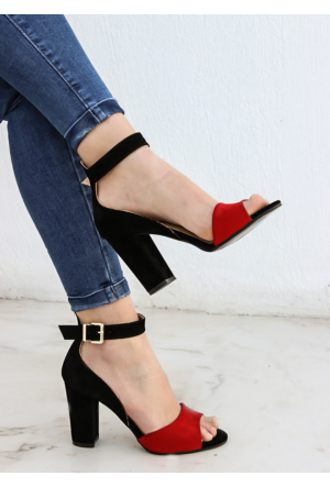 Shoepink Nelly Süet Topuklu Ayakkabı