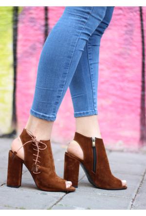 İştebuayakkabı Silvia Topuklu Ayakkabı