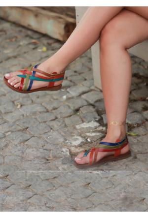 Shoepink Summer Gerçek Deri Sandalet