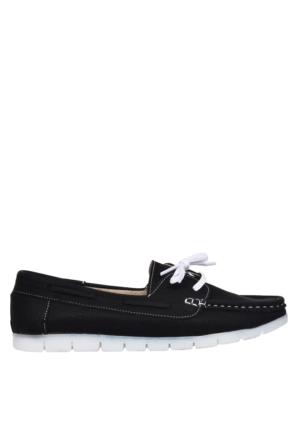 UK Polo Club P64919 Kadın Günlük Ayakkabı - Siyah