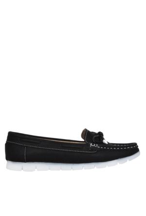 UK Polo Club P64920 Kadın Günlük Ayakkabı - Siyah
