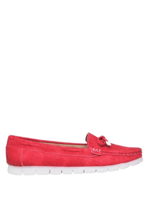 UK Polo Club P64920 Kadın Günlük Ayakkabı - Kırmızı