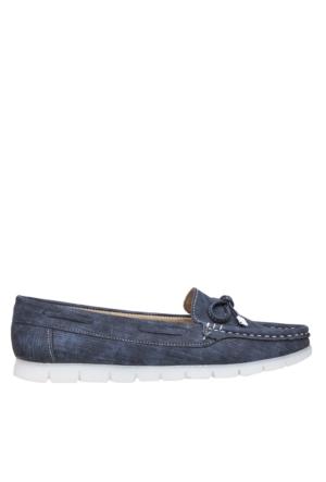 UK Polo Club P64920 Kadın Günlük Ayakkabı - Mavi Kot Desen
