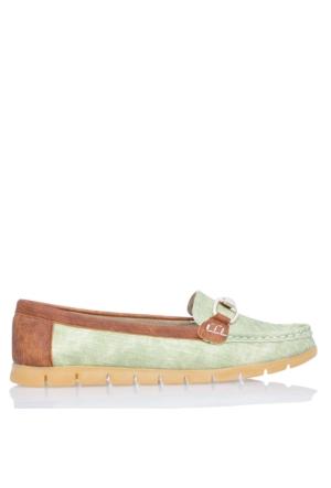 UK Polo Club P64921 Kadın Günlük Ayakkabı - Yeşil