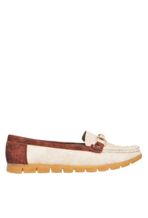 UK Polo Club P64921 Kadın Günlük Ayakkabı - Bej
